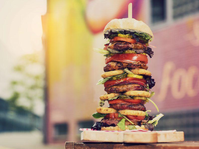 De grootste hamburger van Arnhem