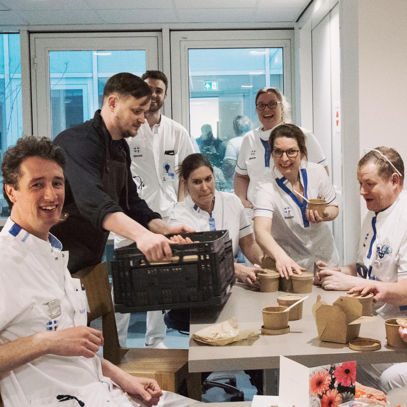 MeeM kookt voor Rijnstate medewerkers